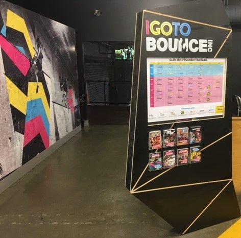 Bounce Inc Programme Info Boards 2