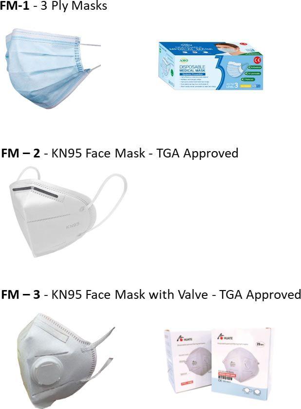 UFO Displays Face masks